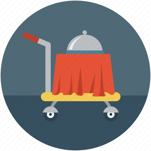 food, food serving, hotel, hotel service, room service icon