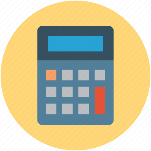 calculation, calculator, counting, digital calculator, scientific calculator icon