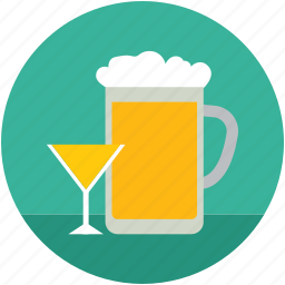 alcohol, beer, beer mug, beverage, drink, glass icon