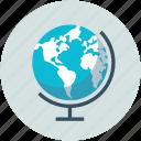 earth, globe, round, table globe, world