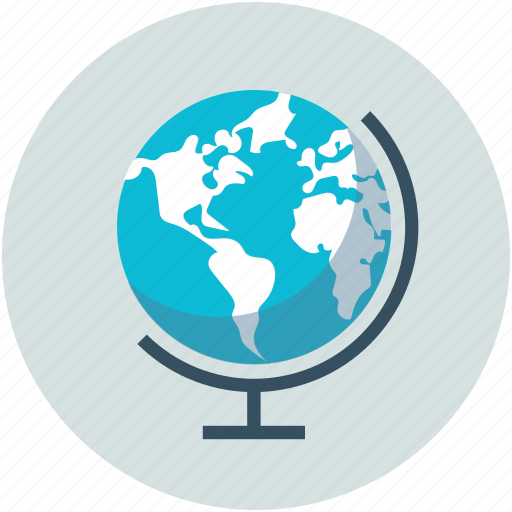 earth, globe, round, table globe, world icon