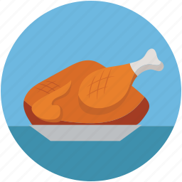 chicken, food, roast, roasted chicken, spicy food, turkey food icon