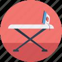 iron, ironing board, ironing stand, ironing tools icon