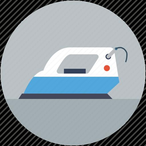 Automated iron, electric iron, iron, ironing tool, laundry icon - Download on Iconfinder