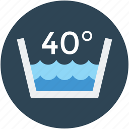 forty degree, heatwave, hot water, temperature, warm icon
