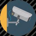 camera, security camera, surveillance, video camera