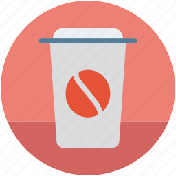 coffee cup, disposable coffee cup, disposable cup, hot coffee, paper cup icon