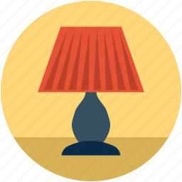 bulb light, electric lamp, lamp, light, table lamp icon