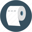 bath, bathroom, hygienic, paper roll, toilet paper icon