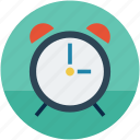 alarm, alarmclock, clock, time, timepiece icon