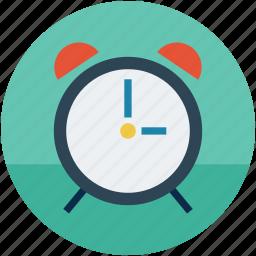 alarm, alarmclock, clock, time, timepiece icon