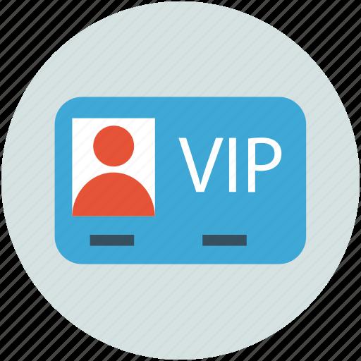 access, pass, privileges, vip card, vip service icon