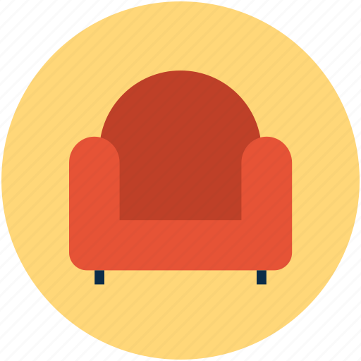 couch, divan, furniture, interior, settee, sofa icon