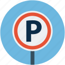 car, car parking, parking, parking sign, transport icon