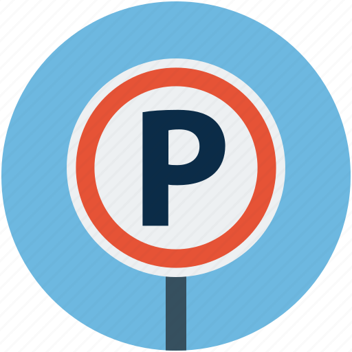 car, car parking, parking, parking sign, transport icon