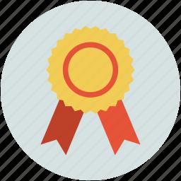 award, badge, insignia, medal, prize icon