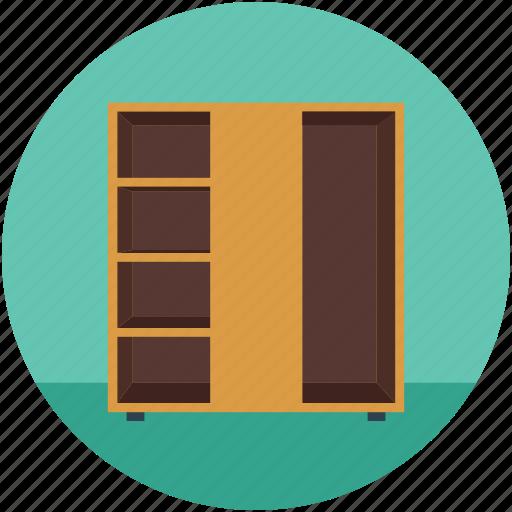 books, bookshelf, knowledge, library, study icon