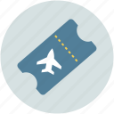 air ticket, airline flight ticket, flight ticket, ticket, travel icon