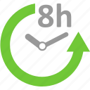 clock, delivery, event, hour, schedule, time, watch icon