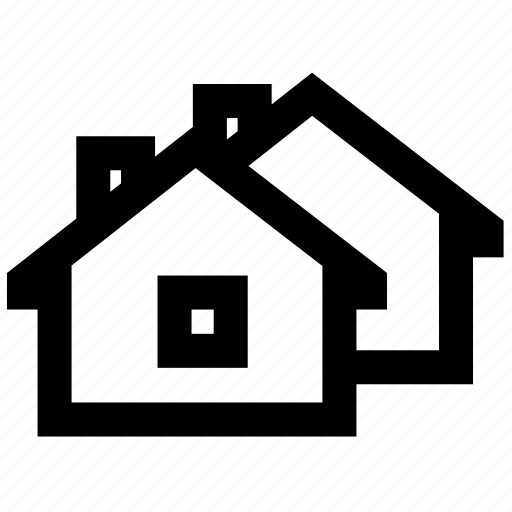 home, house, line icon