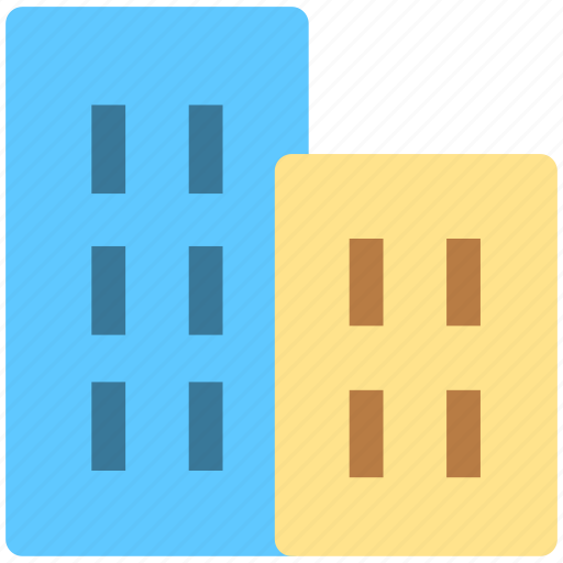 building, builds, city, house icon