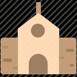 building, chapel, church, house icon