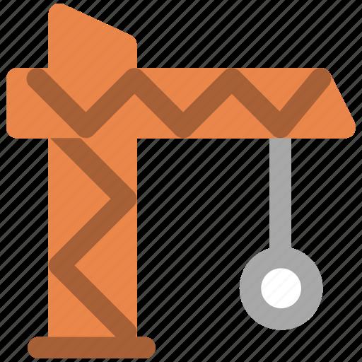 building, construction, tower crane icon