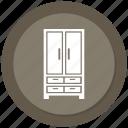 belongings, home, households, interior icon