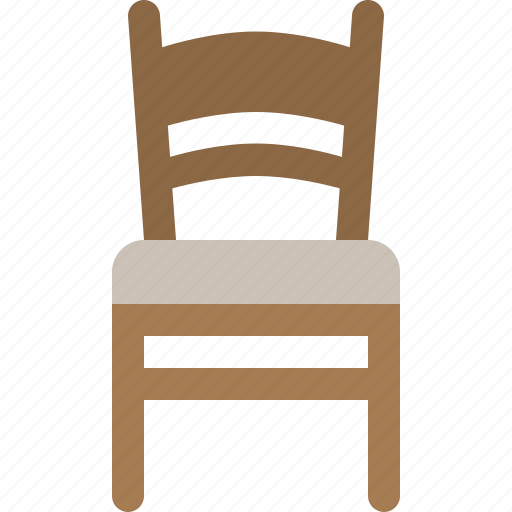 chair, furniture, household, seat icon