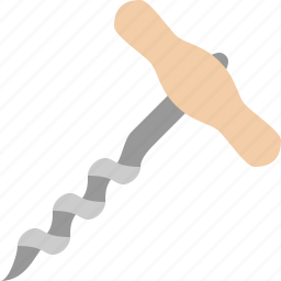 construction, corkscrew, drill, household, machine icon