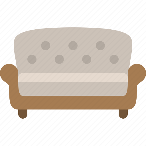 chair, couch, household, room, sofa icon