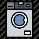appliance, household, machine, washing