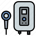 appliance, boiler, heater, household, water icon