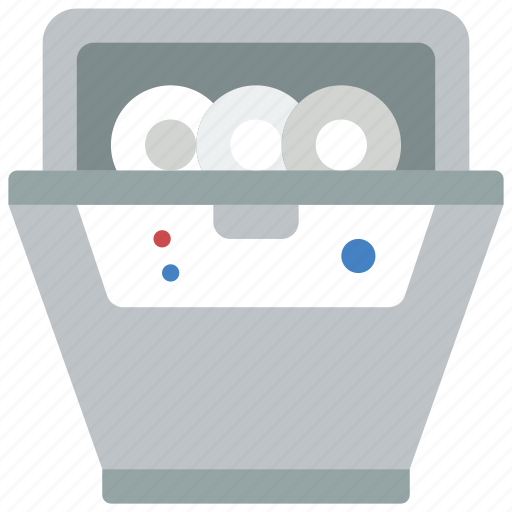 Appliance, dishwasher, home, house, household icon - Download on Iconfinder
