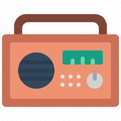 appliance, home, house, household, radio icon