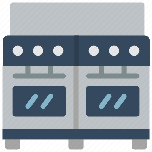 appliance, double, home, household, oven icon