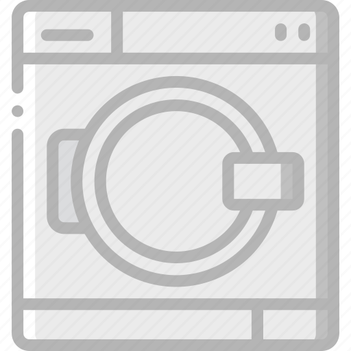 appliance, home, house, household, machine, washing icon