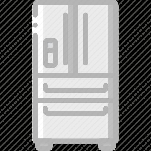 appliance, fridge, home, house, household icon