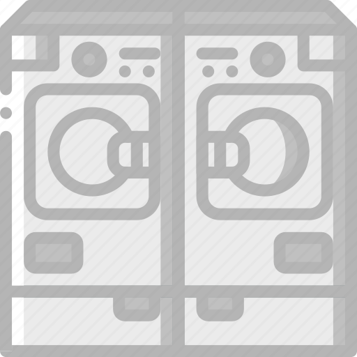 Appliance, dryer, home, house, household, washer icon - Download on Iconfinder