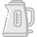 appliance, home, house, household, kettle icon