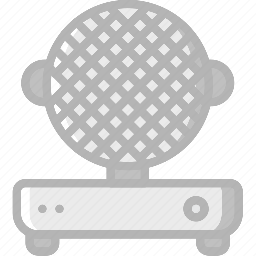 appliance, home, house, household, iron, waffle icon