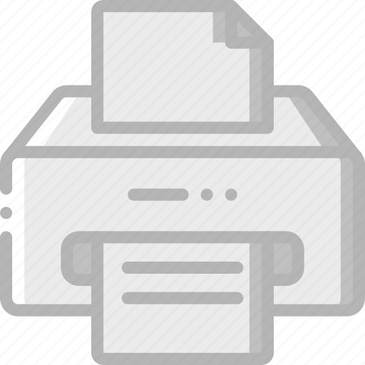 appliance, home, house, household, printer icon