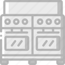 appliance, double, home, house, household, oven