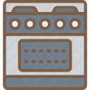 appliance, home, house, household, oven icon
