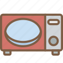 appliance, home, house, household, microwave icon