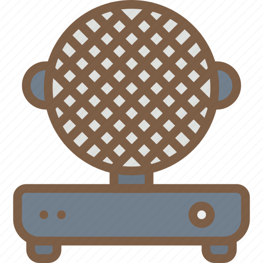 Appliance, home, house, household, iron, waffle icon - Download on Iconfinder
