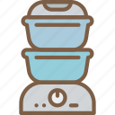 appliance, home, house, household, steamer icon