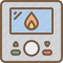appliance, home, house, household, thermostat icon