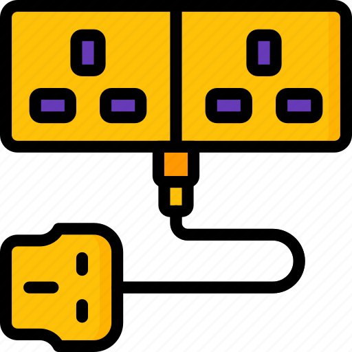 appliance, cable, extension, home, house, household icon