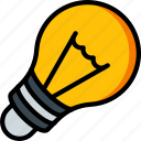 appliance, bulb, home, house, household, light icon